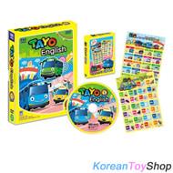 The Little Bus TAYO DVD English Version Series 4 English Audio (Language)