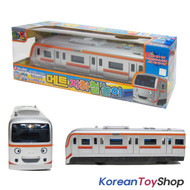 The Little Bus Tayo Friend Met Subway Model Toy Sound Voice Flashing Tube Train
