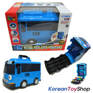 "01060 - The Little Bus TAYO Mini Car Carrier Storage Toy for 2"" Mini Tayo No Cars Inside"