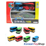 00110 - The Little Bus TAYO Mini Special Set 4 pcs Cars Toy - Tayo, Rogi, Gani, Rani