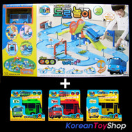 The Little Bus TAYO Street Play Toy Set w/ 4 Buses, Tayo Rogi Gani Rani Mini Car
