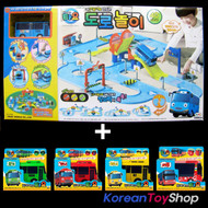 The Little Bus TAYO Street Play Toy Set w/ 5 Buses Tayo Rogi Gani Rani Cito