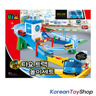 01030 - The Little Bus TAYO Track Play Set Garage Toy w/ Mini Tayo Korean Animation
