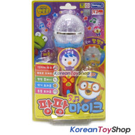 Pororo Mike Shape Toy w/ LED Lighting & Sound Effects Theme Song 4 Buttons Red