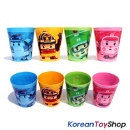 Robocar Poli Plastic Cup 4 pcs Set (4 Colors)