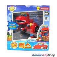 Gogo Dino REX Mini Transformer Robot Dinosaur Car Toy Red Robot Dino Agents