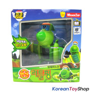 Gogo Dino PING Mini Transformer Robot Dinosaur Car Toy Airplane Green