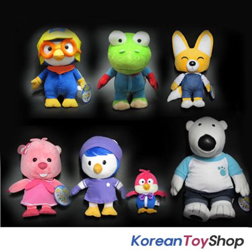 Pororo 7 dolls plush toys full set pororo crong eddy loopy petty image 1 altavistaventures Gallery