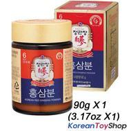 Cheong Kwan Jang / 100% Korean 6 Years Red Ginseng Powder 90g x 1 Bottle
