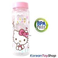 Hello Kitty Tritan Basic Water Bottle 500ml / BPA Free / Made in Korea
