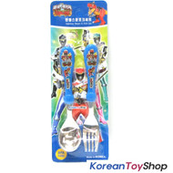 Power Rangers Dino Charge Force Stainless Steel Spoon Fork Set / BPA Free Korea
