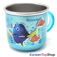 Disney Finding DORY Nemo Stainless Steel Cup Non-slip BPA Free, Made in Korea