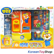 Pororo Character Refrigerator Fridge w/ Food Accessories Toy Kids Children NEW