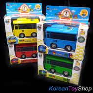 The Little Bus TAYO MINI Diecast Metal Toy Set - Tayo Rogi Rani Gani (4pcs)