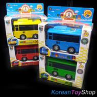 The Little Bus TAYO MINI Diecast Metal Toy Set - Tayo Rogi Rani Gani (4pcs)