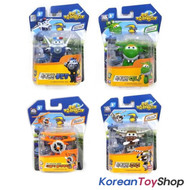 Super Wings Mini Transformer Robot 4 pcs Toy Set BJ BONG MINA DAALJI JUJU