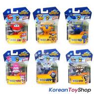 Super Wings Mini Transformer Robot 6 pcs Toy Set HOGI DONNIE JEROME ARI BONG JUJ