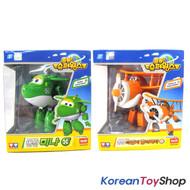 Super Wings MINA/MIRA & DAALJI/GRAND ALBERT Transformer Robot Airplane Toy 2 pcs
