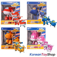 Super Wings Transformer Robot 4 pcs Toy Set HOGI DONNIE JEROME ARI Korean Ani