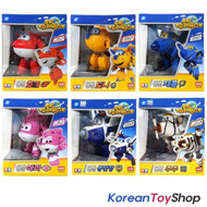 Super Wings Transformer Robot 6 pcs Toy Set HOGI DONNIE JEROME ARI BJ BONG JUJU