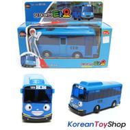 The Little Bus TAYO Diecast Metal Toy Car / Tayo Model / Blue Bus Full Back Gear