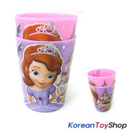 Disney Princess Sofia the First Plastic 2 pcs Cup Set Cups Light & Strong Korea