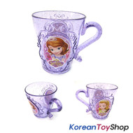 Disney Princess Sofia the First Plastic Tiara Handle Cup 290ml Purple Korea