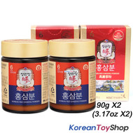 Cheong Kwan Jang / 100% Korean 6 Years Red Ginseng Powder 180g (90g x 2 Bottles)
