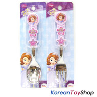 Disney Sofia the First Princess Cute Stainless Steel Spoon Fork Set / BPA Free