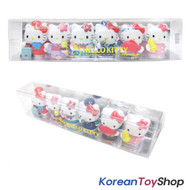 Hello Kitty 6 pcs Cute Mini Figure Set Toy / Job Occupation Theme