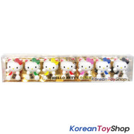 Hello Kitty 7 pcs Cute Mini Figure Set Toy / Good Fortune Theme V.2