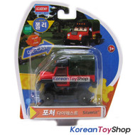Robocar Poli POACHER Diecast Metal Figure Toy Car Truck Academy Genuine