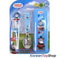 Thomas & Friends Stainless Steel Spoon Training Chopsticks Case Set Nature