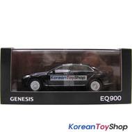 Hyundai Motors Genesis G90 EQ900 Diecast Metal Mini Car Toy 1/38 Black Genuine