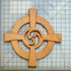 Celtic Wheel Cross Straight Arm Variation-Triskelion-Eternal Connections