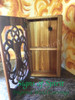 Inside of Tree of Life Cabinet.  This cabinet has one shelf, more can be added.