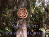 The Celtic Peace Knot, another Inspired Wood Carving by Mark Cooper.