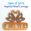 Swan Heart Forever, Celtic Love Knot by Signs of Spirit