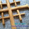 Jerusalem Cross by Signs of Spirit, Inspired Wood Carvings