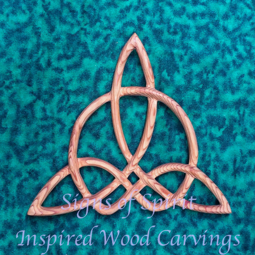 Triquetra of Harmony carved by Signs of Spirit.