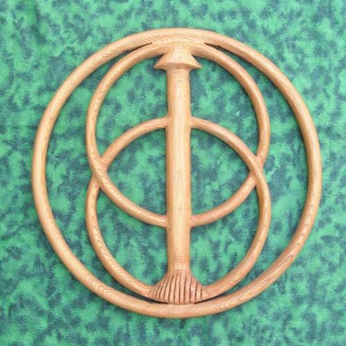 Chalice of Glastonbury Well Cover-King Arthur-Divine Feminine-Holy Grail