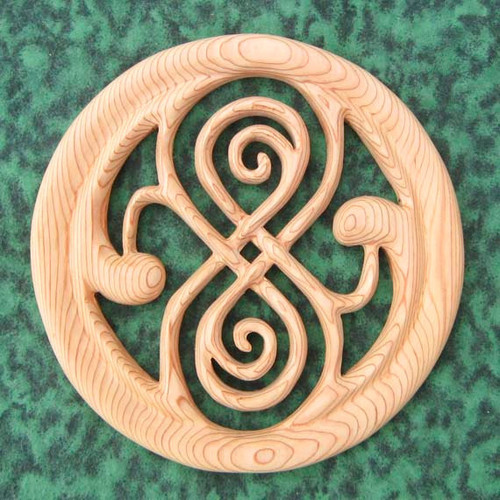 Seal of Rassilon-Time Lord Symbol of Power-Artifact of Rassilon