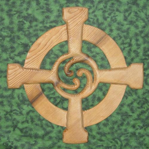 Celtic Wheel Cross by Signs of Spirit