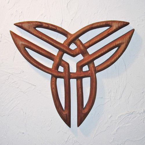 Three by Three Triquetra Knot by Signs of Spirit