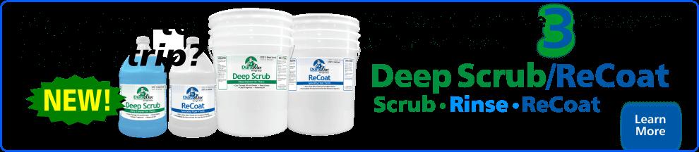 Deep Scrub Recoat Floor Restorer