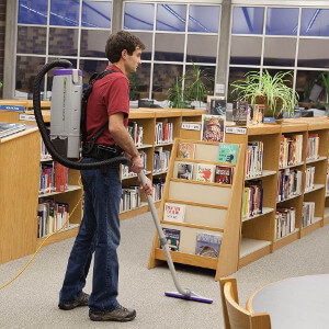 Backpack Vacuums great on low pile carpets