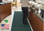 Enviro Plus Floor Mats are Not Only Green but Stand Up in Heavy Traffic Areas!