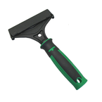 "Unger ErgoTec Scraper is a versatile scraper with an ergonomic handle that uses 4"" carbon steel or stainless steel blades"