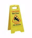 Wet Floor Sign Spanish/English