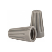 Gray Wire-Nut Wire Connector